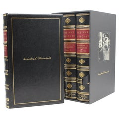 The War Speeches of the Rt. Hon. Winston S. Churchill, Signed, First Edition