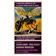'The Wasp Woman' Original Us Film Poster, Three Sheet, 1959