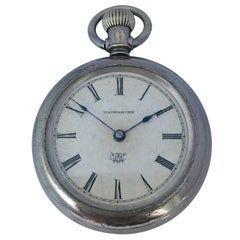 The Waterbury Watch Co. Antique Hand-Winding Pocket Watch