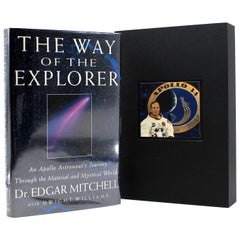 """The Way of the Explorer"" Signed by Dr. Edgar Mitchell, First Edition, 1996"