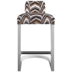 The Wendell Bar Stool by The Wendell Castle Collection