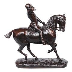 """The Whip"" / John Willis-Good British 1845-1879 Signed J Willis Good Circa 1874"