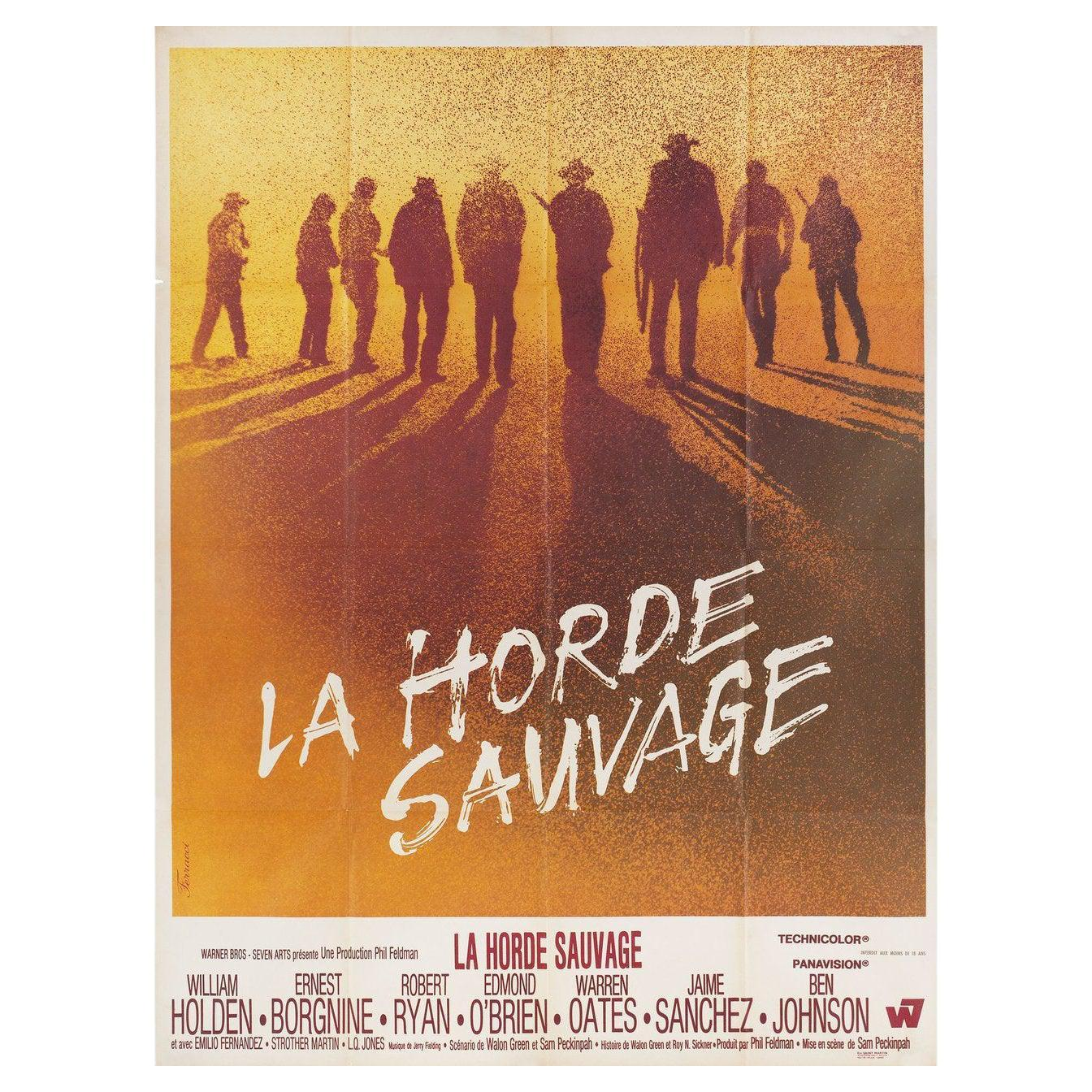 The Wild Bunch 1969 French Grande Film Poster