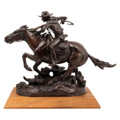 """""""The Winchester Rider"""" Bronze by Robert Scriver"""