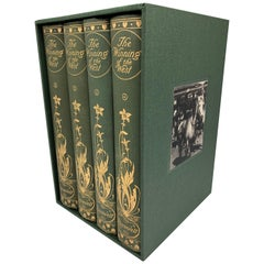 """The Winning of the West"" by Theodore Roosevelt, Signed, Four Volumes, 1908"