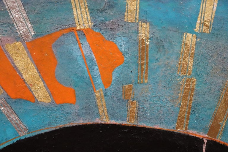 The Wisdom in Women, Contemporary Mixed-Media Painting In New Condition For Sale In Boughrood, Powys