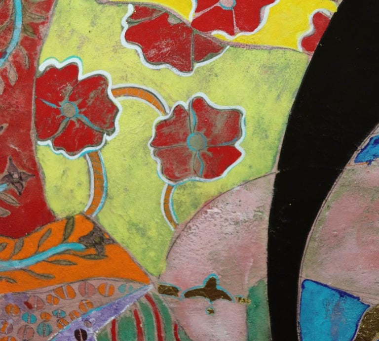 The Wisdom in Women, Contemporary Mixed-Media Painting For Sale 3