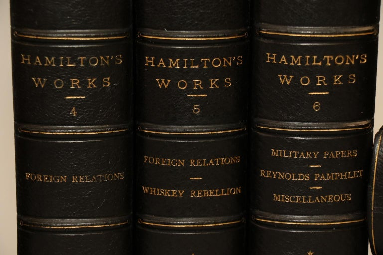 American Classical Works of Alexander Hamilton Edited by Henry C. Lodge, Limited Edition! For Sale
