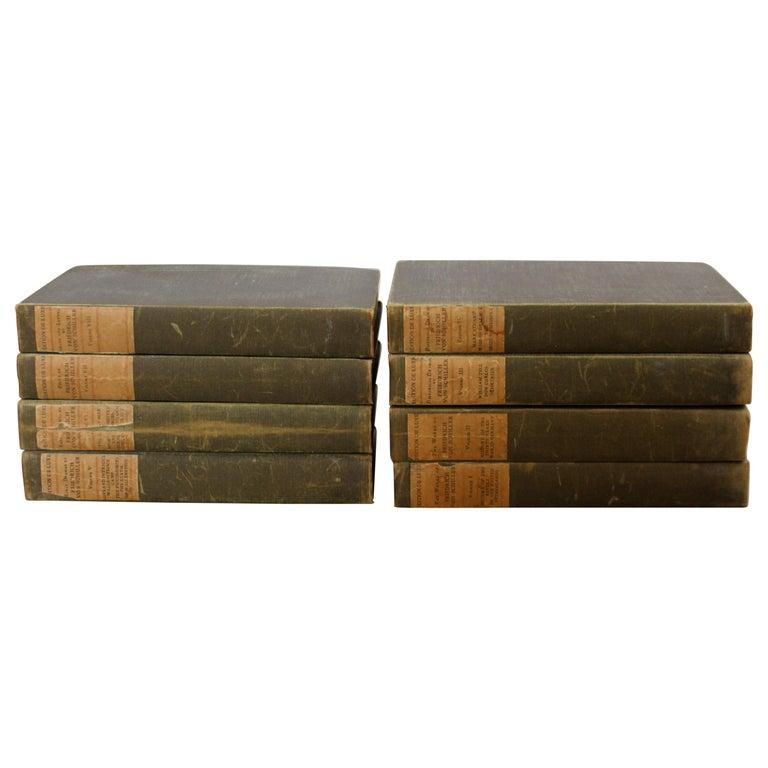 The Works of Friedrich Von Schiller Set of 8 Books 163/500 Limited Edition For Sale