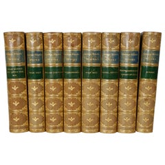 The Works of George Eliot in 8 Leatherbound Volumes