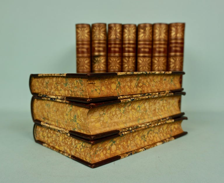 Works of Hawthorne in 10 Illustrated Gilt-Tooled Leather Bound Volumes  In Good Condition For Sale In San Francisco, CA