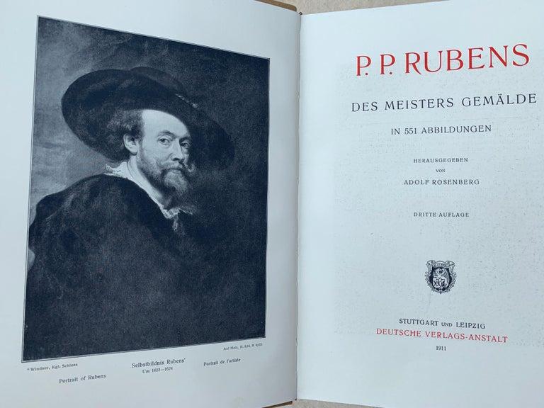 Baroque The Works of P.P.Rubens, 551 Illustrations, Adolf Rosenberg, Leipzig, 1911 For Sale
