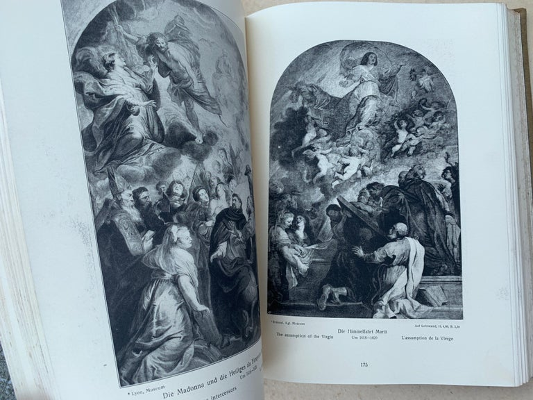 The Works of P.P.Rubens, 551 Illustrations, Adolf Rosenberg, Leipzig, 1911 In Good Condition For Sale In London, GB