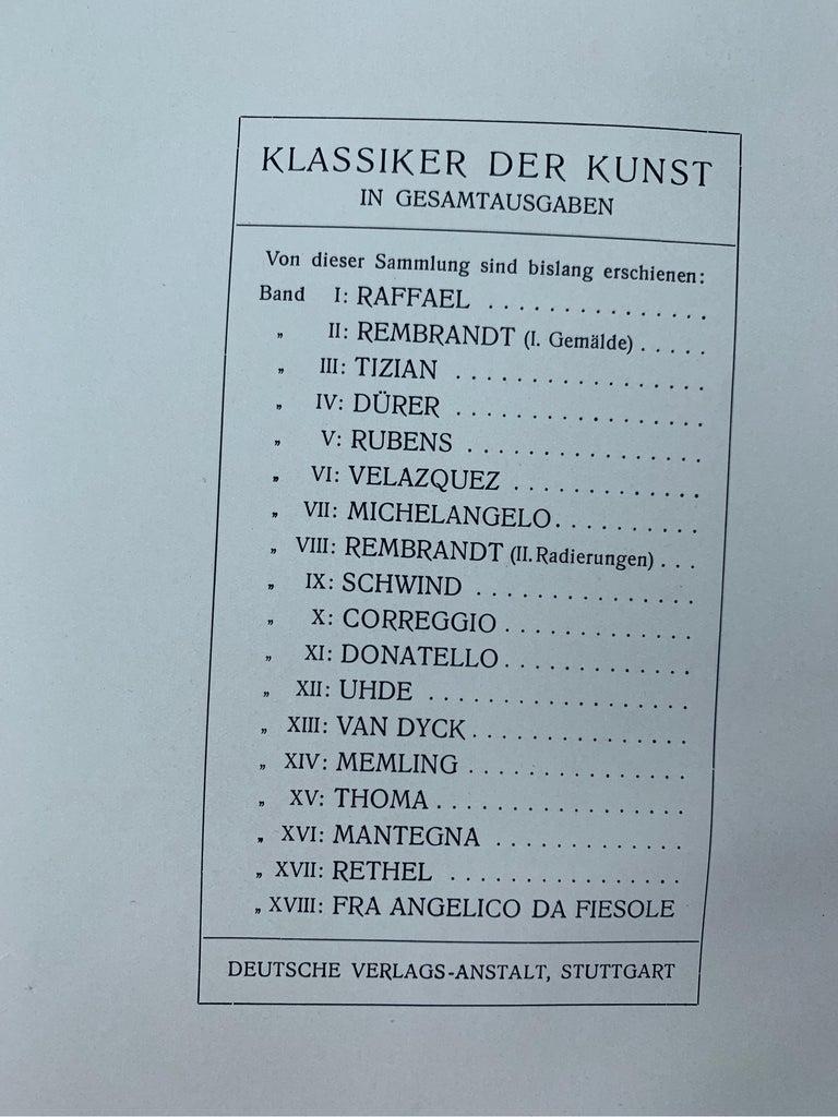 1910s The Works of P.P.Rubens, 551 Illustrations, Adolf Rosenberg, Leipzig, 1911 For Sale