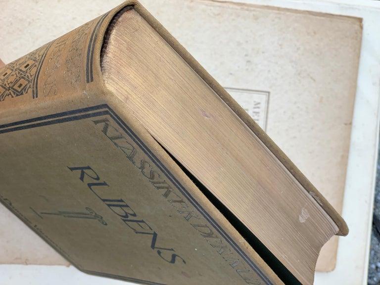 Paper The Works of P.P.Rubens, 551 Illustrations, Adolf Rosenberg, Leipzig, 1911 For Sale