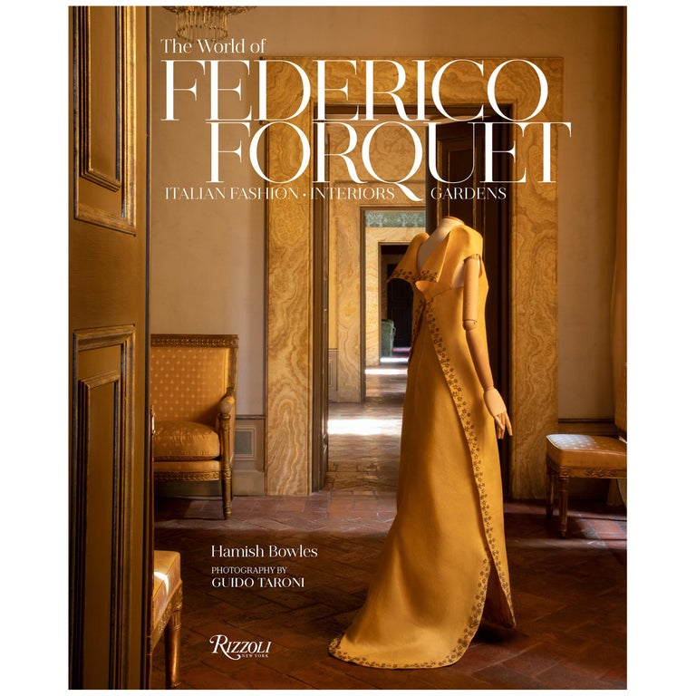 World of Federico Forquet Italian Fashion, Interiors, Gardens For Sale