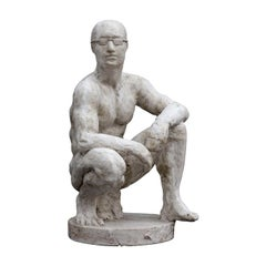 Wounded Boxer Sculpture
