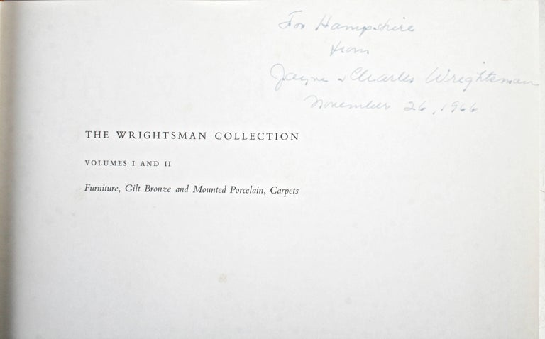 Wrightsman Collection, Vols I-V, First Editions, Signed by the Wrightsmans For Sale 4