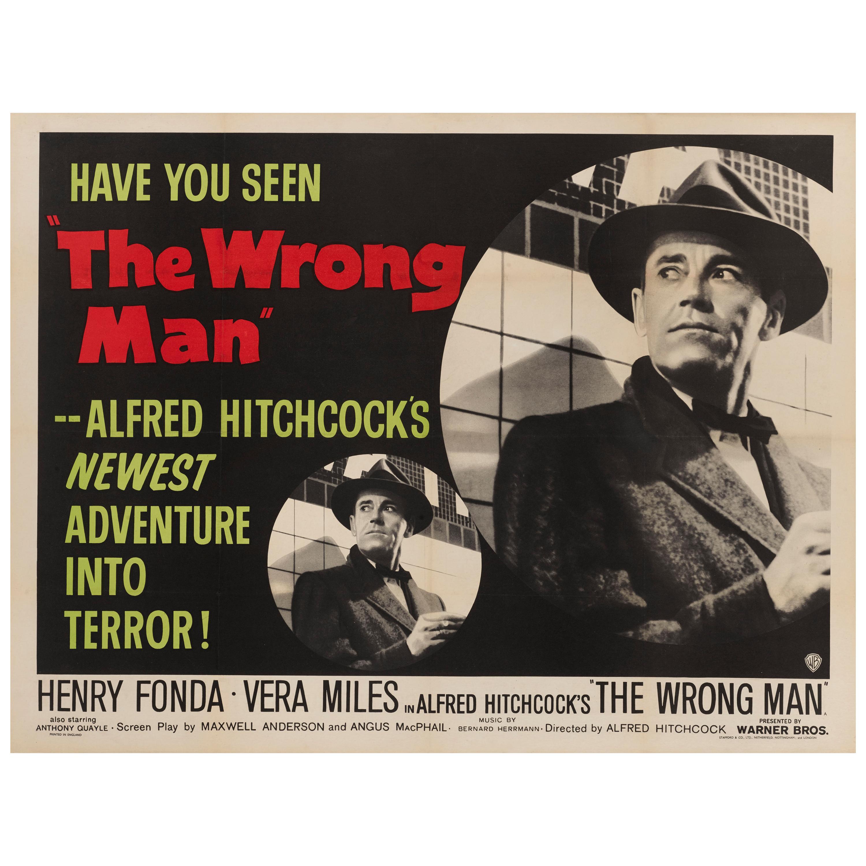 """The Wrong Man"" Original British Film Poster"