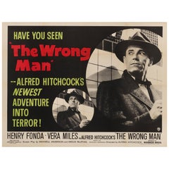 """The Wrong Man"" Original British Film Poster"
