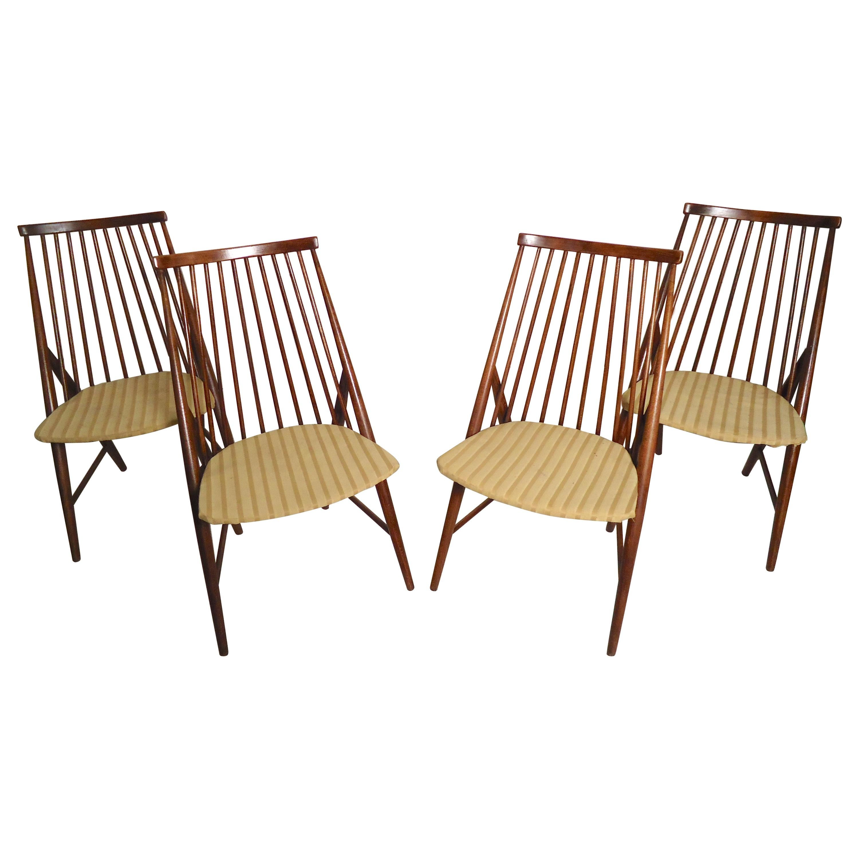 Thea Leonard Flamingo Chairs for Nassjo Stolefabrik
