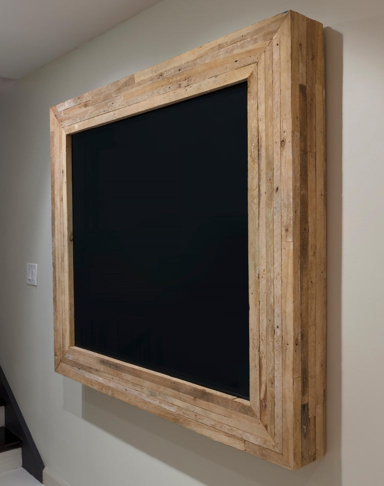 Lathe Black Box - Sculpture by Theaster Gates