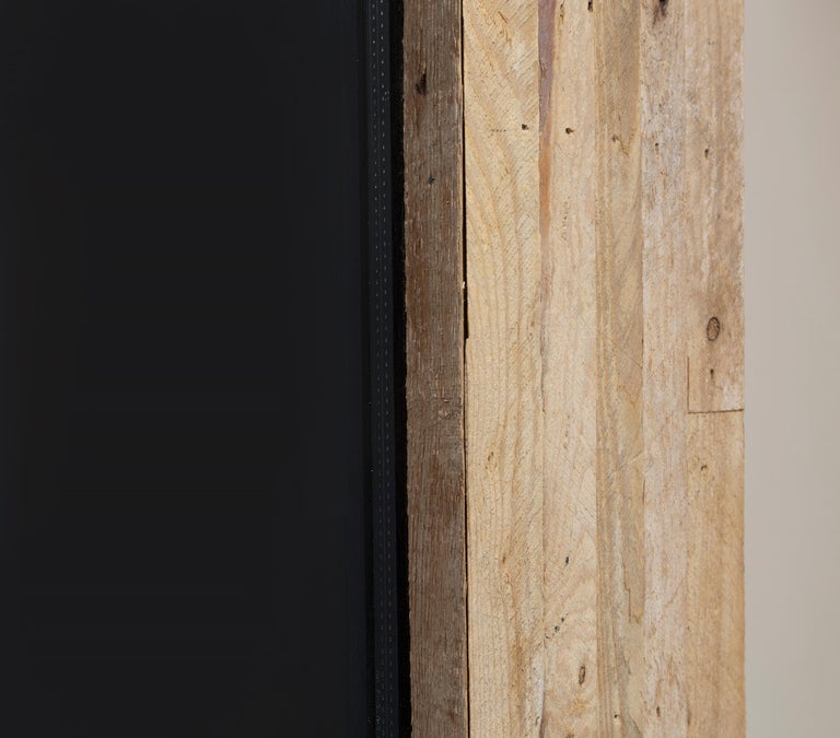A sculptural work by Theaster Gates.