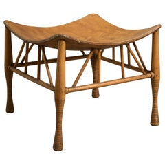 Thebes Stool, Attributed to Liberty & Co
