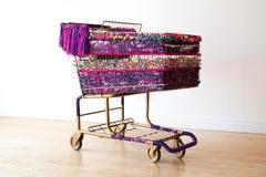 Large Sculpture: 'Purple Fiesta: Baggage'