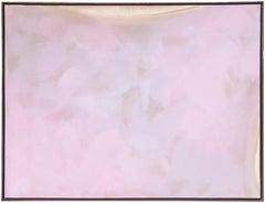 'Desert Carpet, Lilac and Ivory', Large Bay Area Abstract, Berkeley Woman Artist