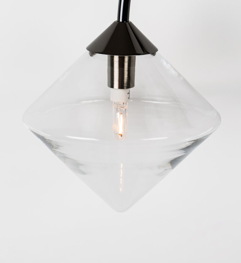 Modern Themis Pendant by Bec Brittain For Sale