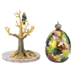 """Theo Fabergé Limited Edition """"tropical egg"""""""