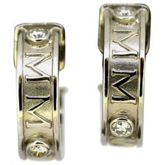 Theo Fennel, Millenium Earrings, White Gold, Diamond, 1999