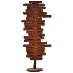 Theo Niermeijer Abstract Modern Pipes Sculpture, 1970