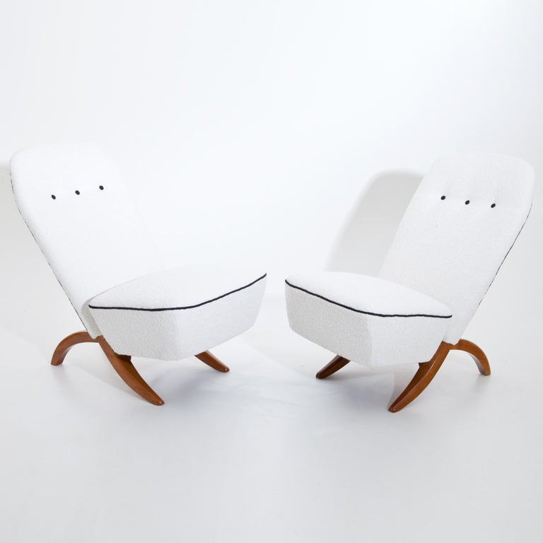 Dutch Theo Ruth Congo Lounge Chairs, Netherlands, Mid-20th Century For Sale