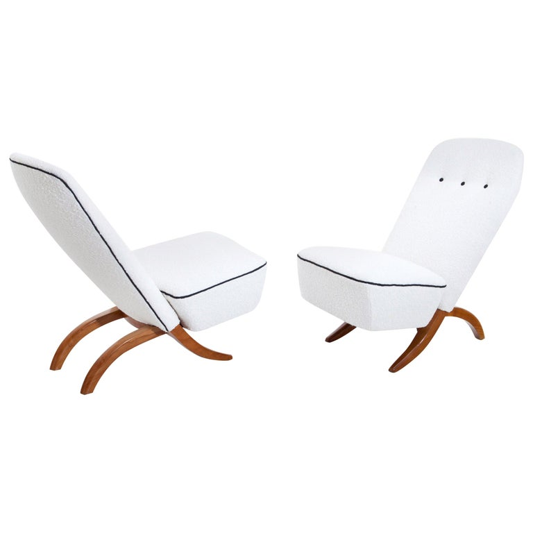 Theo Ruth Congo Lounge Chairs, Netherlands, Mid-20th Century For Sale