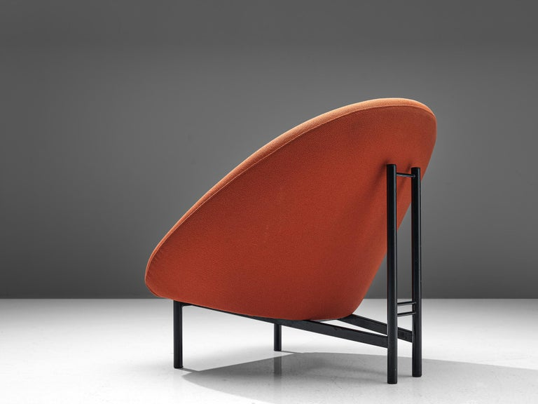Mid-Century Modern Theo Ruth for Artifort Orange Lounge Chair For Sale