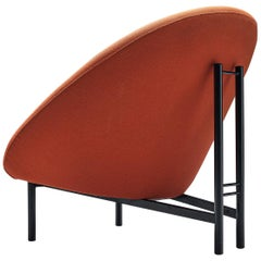 Theo Ruth for Artifort Orange Lounge Chair