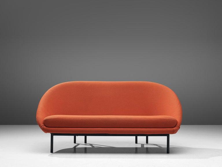 Mid-Century Modern Theo Ruth for Artifort Orange Sofa For Sale