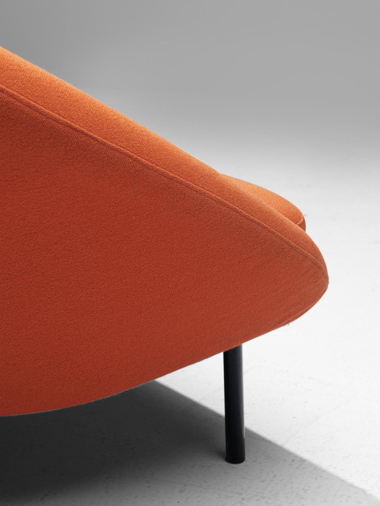Late 20th Century Theo Ruth for Artifort Orange Sofa For Sale