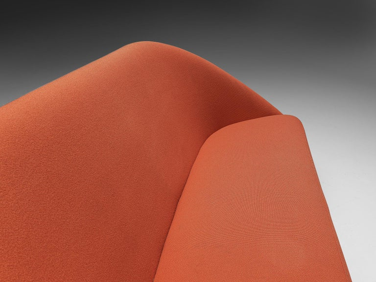 Theo Ruth for Artifort Orange Sofa For Sale 1