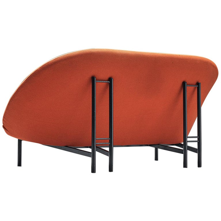 Theo Ruth for Artifort Orange Sofa For Sale