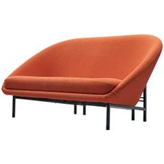 Theo Ruth for Artifort Orange Sofa
