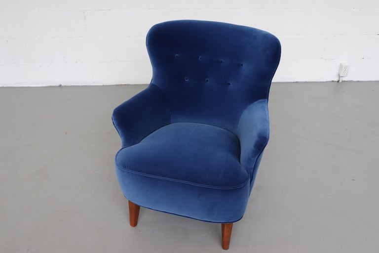 Mid-20th Century Theo Ruth Lounge Chair by Artifort For Sale
