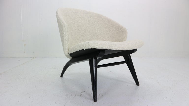 Theo Ruth Set of Two Lounge Chairs for Artifort, 1950s For Sale 1