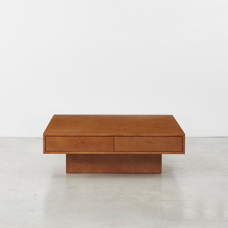 Modern Theo Schulmann Coffee Table, France, circa 1970 For Sale