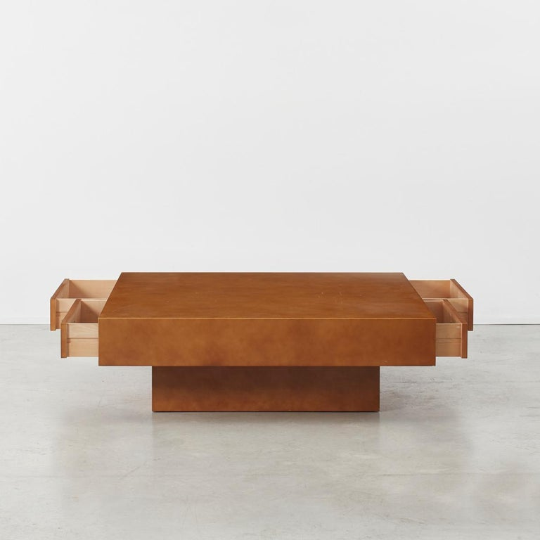 French Theo Schulmann Coffee Table, France, circa 1970 For Sale