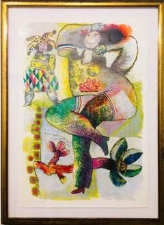 Danse Pantomime 1982 silkscreen
