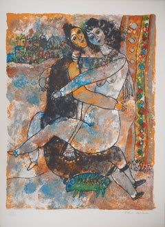 Song of Songs : Honey Moon - Original Lithograph, Handsigned and Numbered