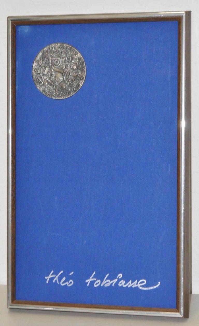 Theo Tobiasse (1927-2012) King Solomon Medallion c.1975 - Art by Théo Tobiasse